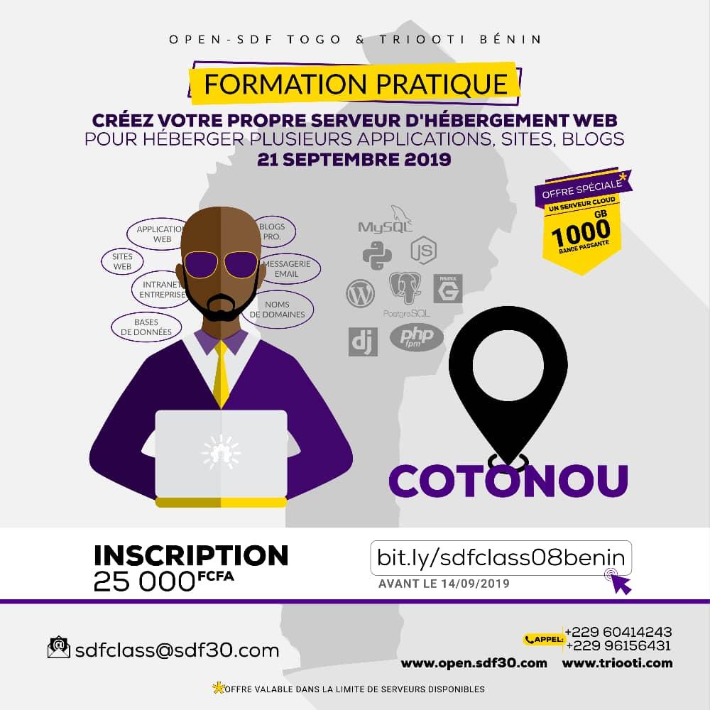 SDFClass Bénin 2019