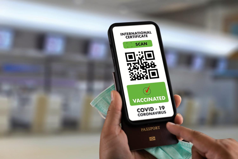 Télécharger le pass sanitaire européen avec son QR code